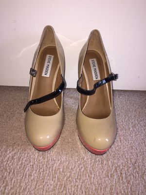 Size 7.5 Steve Madden nude pumps for Sale in Houston, TX
