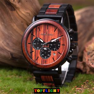 Luxury Stylish Wooden Timepieces Chronograph Military Quartz Wood Watch for Sale in Seattle, WA