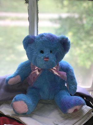 Blue teddy bear for Sale in New Market, TN