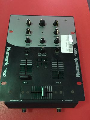 Numark DM950 DJ mixer turntable setup pro audio party BCP002218 for Sale in Fountain Valley, CA