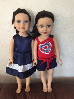 "Journey girls dolls 18""H for Sale in Corona, CA"