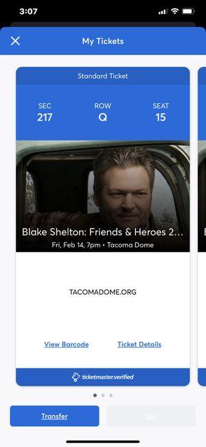Blake Shelton Concert Tickets for Sale in Medford, OR