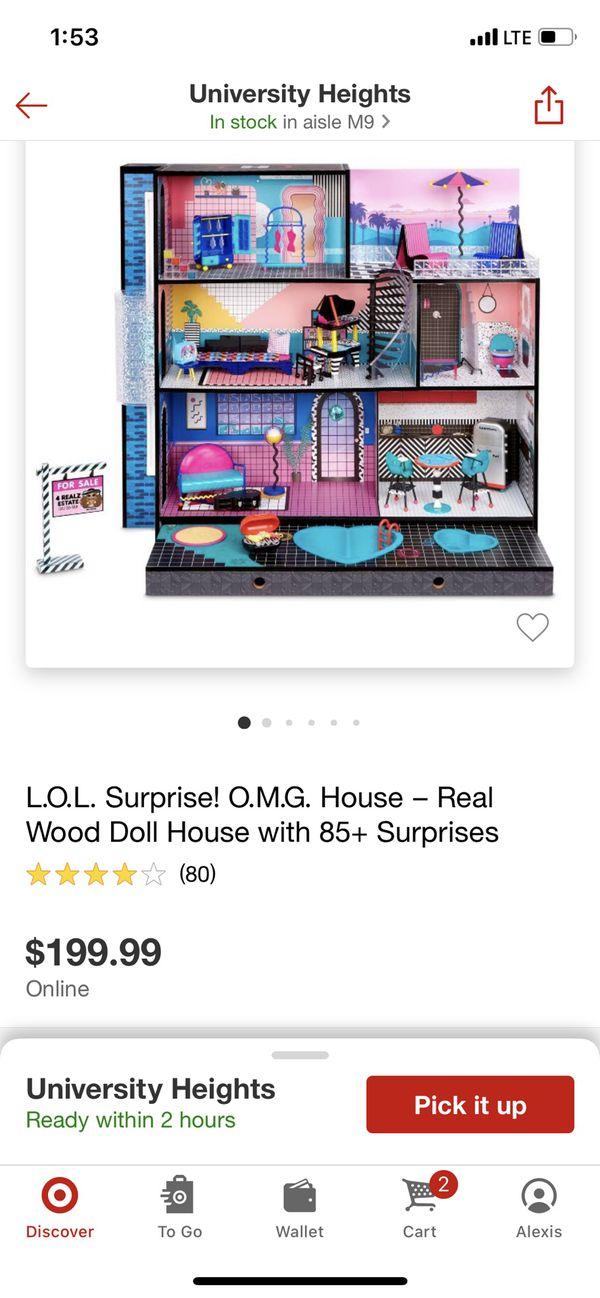 Lol Surprise Doll House