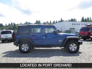 2009 Jeep Wrangler Unlimited for Sale in Port Orchard, WA