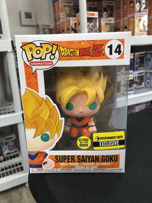 DragonBall Z - Super Saiyan Goku Entertainment Earth Exclusive GITD Funko POP for Sale in Los Angeles, CA