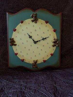Cute Bear Kitchen Clock for Sale in Pearisburg, VA