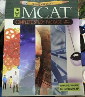 Used mcat complete study 9th edition for Sale in Rosemead, CA