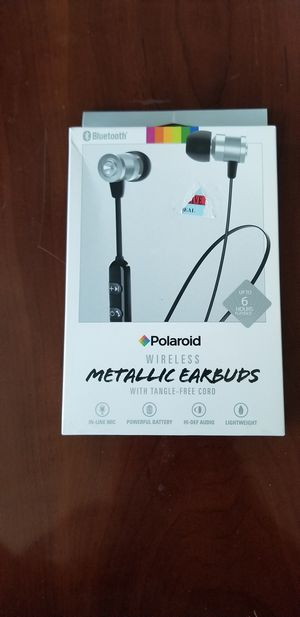 Polaroid Wireless Metallic Earbuds for Sale in Kennesaw, GA