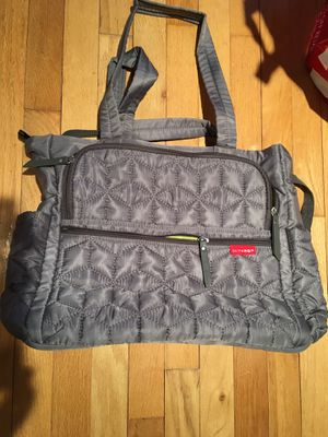 Skip hop diaper bag for Sale in Ridgefield, NJ