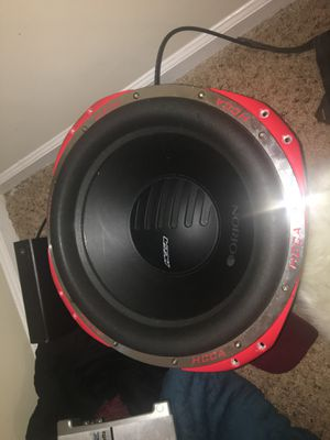 """ORION HCCA-152 15"""" DUAL 2-OHM CAR SUBWOOFER 4000 WATT for Sale in Stone Mountain, GA"""