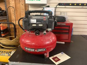 Air compressor porter cable 150 psi 6gal for Sale in Phoenix, AZ