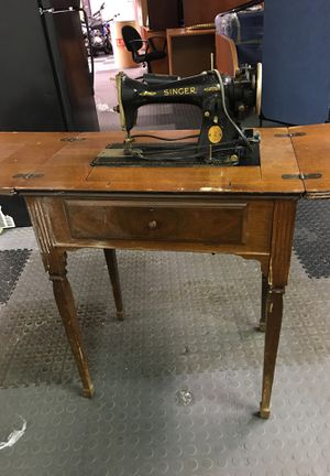 Antique Sewing Machine Table for Sale in Herndon, VA