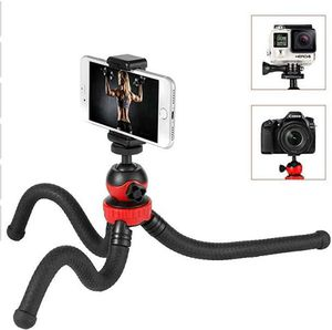 Moreslan Camera Phone Tripod Flexible Tripod, Adjustable Travel Phone Tripod Stand Holder with Cell Phone Holder Clip for Gopr for Sale in Rancho Cucamonga, CA
