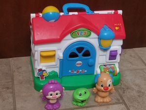 Fisher price laugh and learn home for Sale in Williamsburg, VA