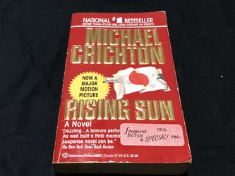 Michael Chichton Rising Sun (make An Offer) for Sale in Orlando,  FL