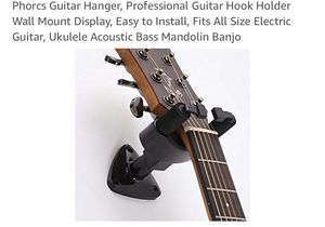 New Guitar Hanger, Professional Guitar Hook Holder for Sale in Hacienda Heights, CA