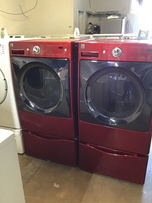 Set kenmore steam washet and steam dryer for Sale in Houston, TX