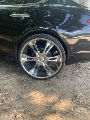"24"" rims good tires ready to mount on and ride for Sale in Richmond, VA"