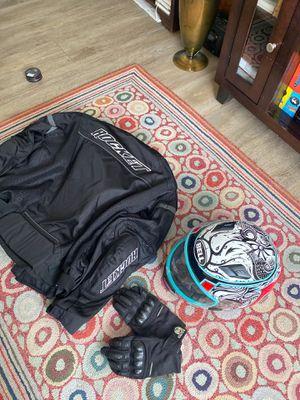 Motorcycle jacket/helmet/gloves for Sale in Spring Valley, CA