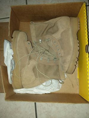Military Combat Boots (TAN) for Sale in El Paso, TX
