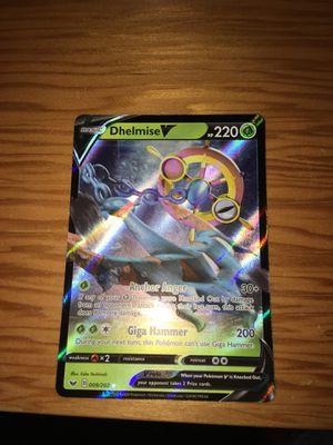 NEW Dhelmise V 009/202 Pokémon Card for Sale in Midlothian, VA