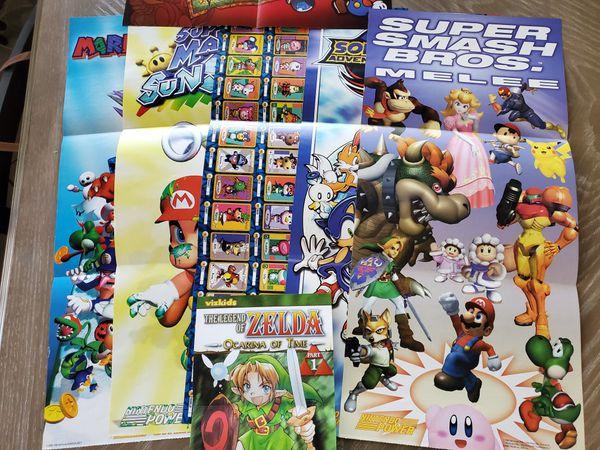 Vintage Nintendo Power Posters
