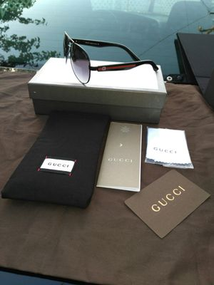Black designer shades..( Box and Case and gift bag is extra) for Sale in Concord, CA