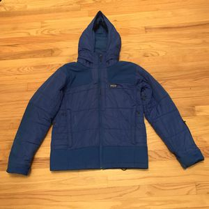 Patagonia Mens Ski Snowboard Rubicon Rider Jacket Coat - Blue - Size Small for Sale in Pelham, NH