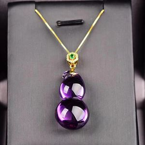 Amethyst with gold plated chain for Sale in Lanham, MD