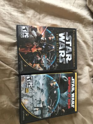 Star Wars PC games! for Sale in Plano, TX