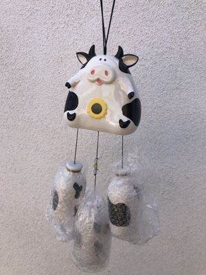 Holy Cow 🐮 ceramic wind chime for Sale in Long Beach, CA
