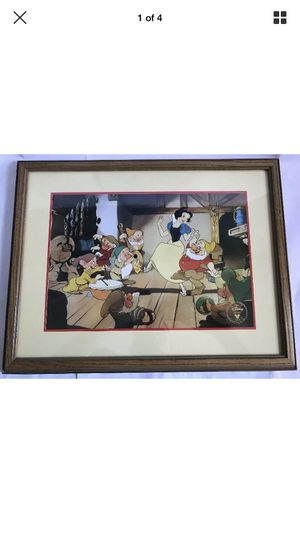 Disney Exclusive Commemorative Lithograph Snow White And The Seven Dwarfs for Sale in Virginia Beach, VA