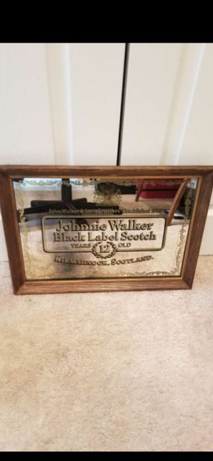 VINTAGE JOHNNIE WALKER MIRRORED PICTURE for Sale in Delray Beach, FL