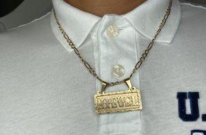 Cadena y medalla de 14k for Sale in Turlock, CA