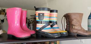 Girls rainboots / boots for Sale in Deltona, FL