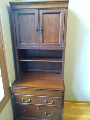 Executive Desk & Filing Cabinet Home Office for Sale in West Chicago, IL