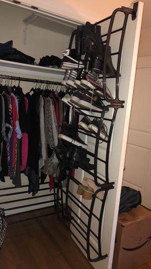 Hanging Shoe Rack: Over The Door Shoe Storage for Sale in New York, NY
