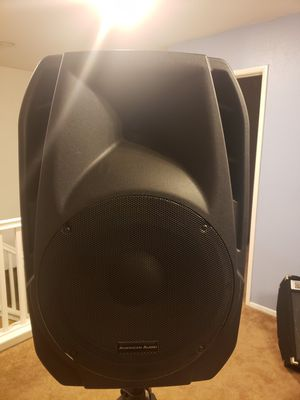 American Audio KPOW15A Professional Powered Two-Way Loudspeakers for Sale in Fontana, CA