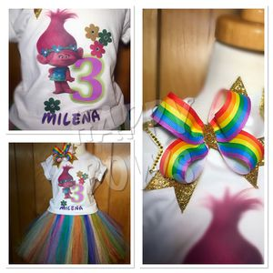 Disney the troll inspired tutu outfit for Sale in Manassas, VA