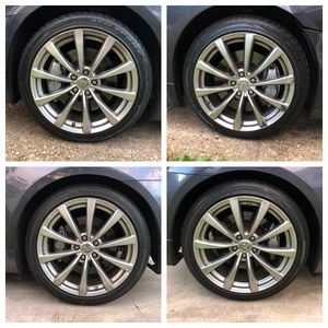 G37 sport rims 19 inch for Sale in Temple Hills, MD