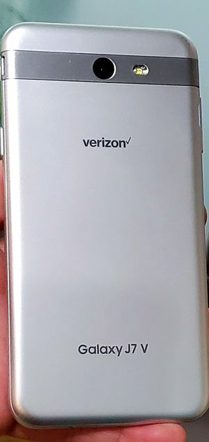 UNLOCKED BIG SCREEN GALAXY J7V EXCELLENT CONDITION TMOBILE ATT VERIZON METRO CRICKET AND WORLD USE for Sale in Atlanta, GA