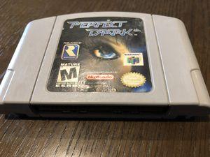 Perfect Dark N64 for Sale in Seattle, WA