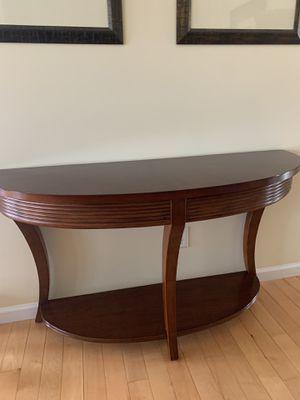 Bassett Berkeley Demilune Console Table for Sale in Fenton, MO