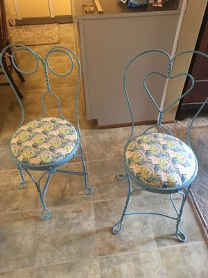 Ice cream parlor chairs for Sale in Morgantown, WV