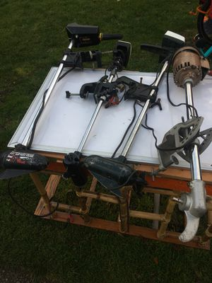 4 electric outboard trolling fishing motors for Sale in Shoreline, WA