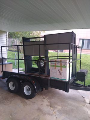 Trailer 8 1/2 x 4 1/2 Brand New Double Axle for Sale in Adelphi, MD