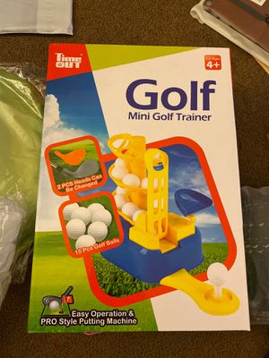 Mini golf trainer for Sale in National City, CA