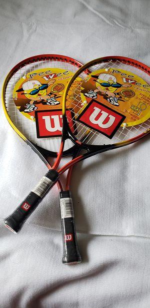 "New Wilson pee wee 23"" children's Tennis racket ( each $20) for Sale in New Haven, CT"