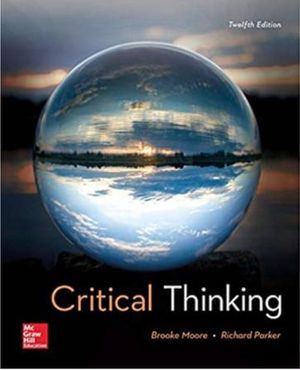 Critical Thinking 12th Edition (PDF/E-BOOK) - $15 for Sale in Anaheim, CA