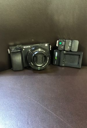 Sony digital camera alpha 6300 for Sale in Sugar Land, TX